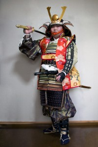 Armored_Samurai_with_Jin-Haori