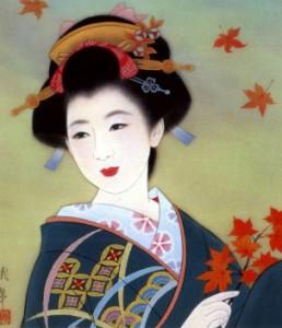 dessin-geisha-japon