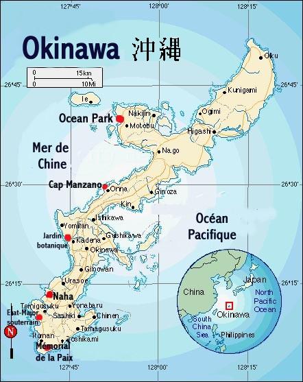 Carte Du Japon Okinawa | tonaartsenfotografie