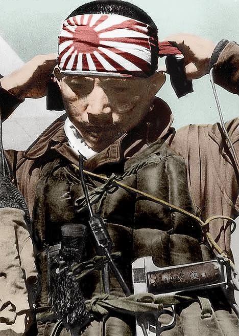 kamikaze fighters